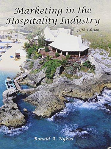 Marketing in Hospitality Industry (w/out Answer Sheet): Nykiel