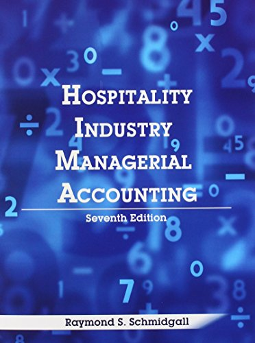 9780866123594: Hospitality Industry Managerial Accounting