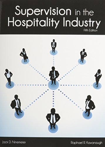 9780866124058: Supervision in the Hospitality Industry