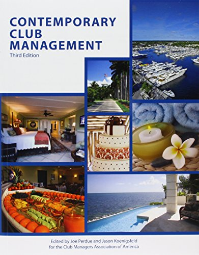 9780866124089: Contemporary Club Management