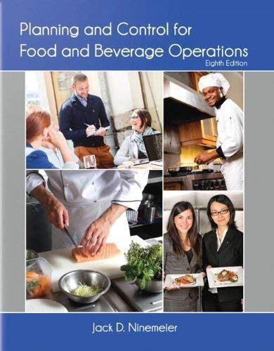 9780866124157: Planning and Control for Food and Beverage Operations