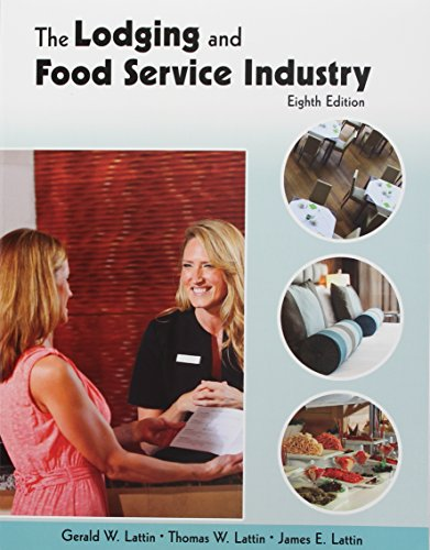 9780866124379: The Lodging and Food Service Industry