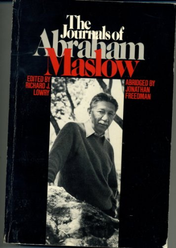 The Journals of Abraham Maslow