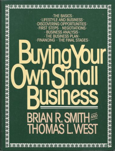 9780866160476: Buying Your Own Small Business