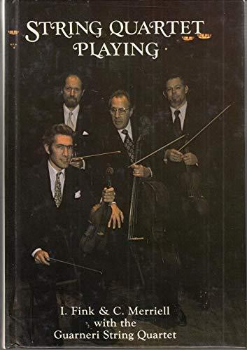 9780866220071: String Quartet Playing