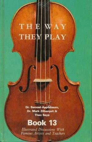 The Way They Play - Book 13: Applebaum, Samuel