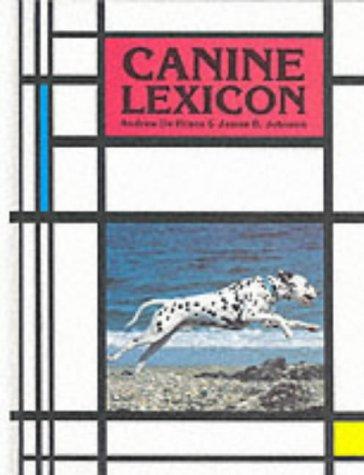 9780866221986: Canine Lexicon