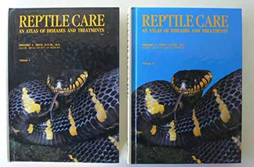 9780866222143: Reptile Care: An Atlas of Diseases and Treatments