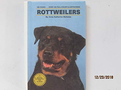 9780866223584: Complete Guide to Rottweilers (Complete Introduction Series)