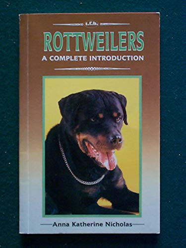 9780866223751: Complete Guide to Rottweilers