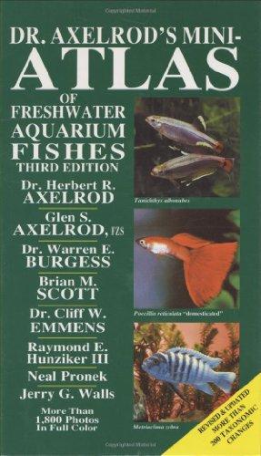 9780866223850: Dr Axelrods Mini Atlas of Freshwater Aquarium Fishes (Dr. Axelrod's Atlas of Freshwater Aquarium Fishes)