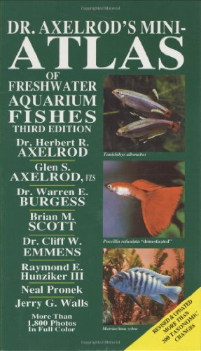 9780866223850: Dr. Axelrod's Mini-Atlas of Freshwater Aquarium Fishes