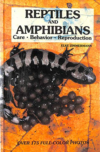 9780866225410: Reptiles and Amphibians: Care, Behavior, Reproduction