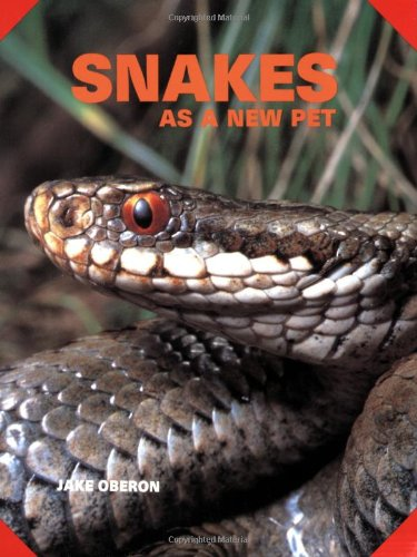 9780866226233: Snakes As a New Pet