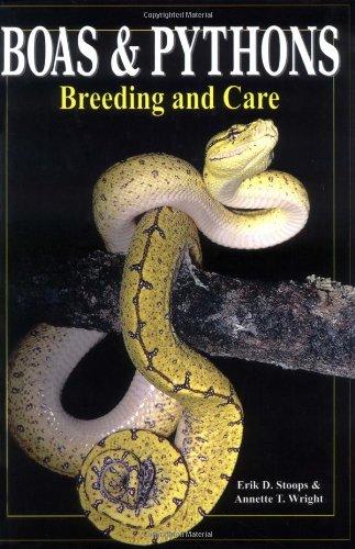 9780866226325: Boas & Pythons: Breeding and Care