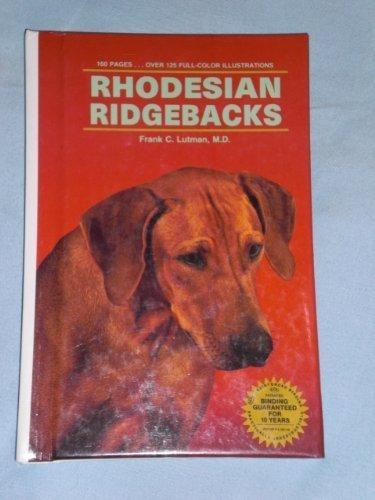 9780866229890: Rhodesian Ridgebacks