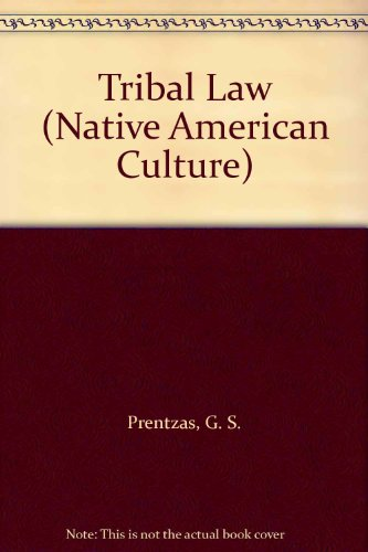 9780866255363: Tribal Law (Native American Culture)