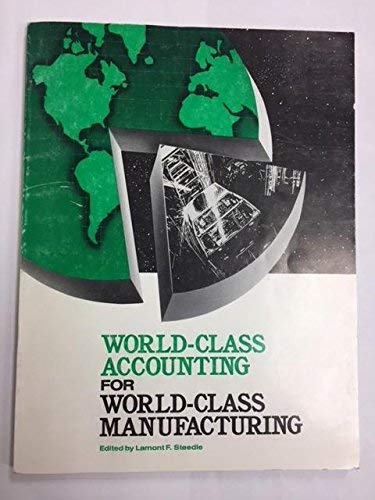 9780866411936: World-Class Accounting for World-Class Manufacturing/#90255