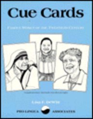 9780866470773: Cue Cards - Famous Women of the Twentieth Century