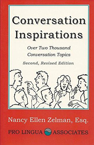 9780866470940: Conversation Inspirations: Over 2000 Conversation Topics