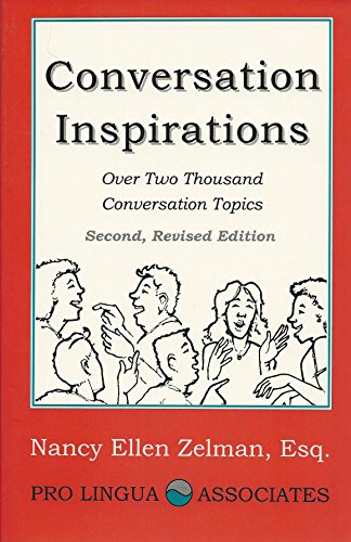 9780866470940: Conversation Inspirations: Over 2000 Conversation Topics