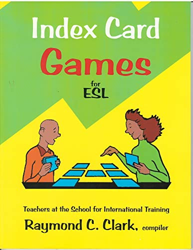 9780866471589: Index Card Games for ESL