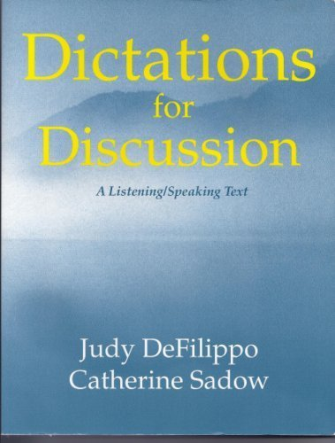 9780866471671: Dictations for Discussion