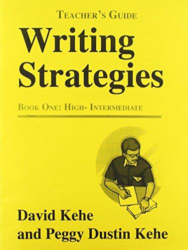 9780866471749: Writing Strategies 1: Teacher's Guide
