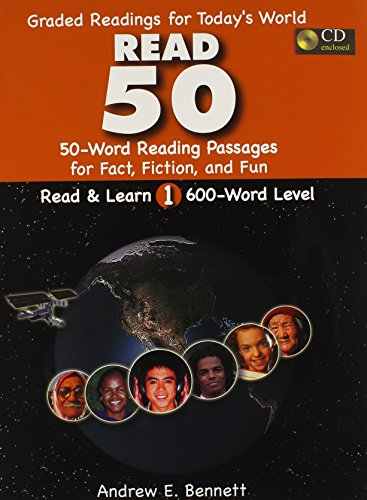 9780866472289: Read 50 (Read & Learn, Book 1): Text / CD Package