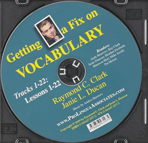 9780866472975: Getting a Fix on Vocabulary Audio CD
