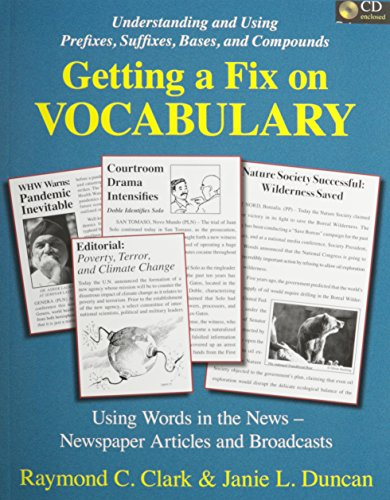 9780866472982: Getting a Fix on Vocabulary, Text/CD Set