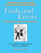 9780866473019: Trials and Errors:Vocabulary Supplement and Error Correction Scrip