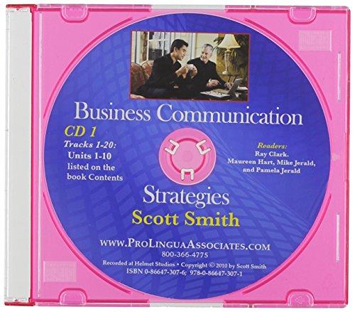 9780866473071: Business Communication Strategies (Set of 2 CD's)