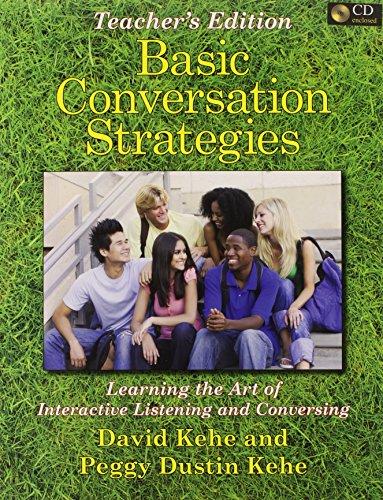 9780866473132: Basic Conversation Strategies: Teacher's Edition and 2 Audio CD's