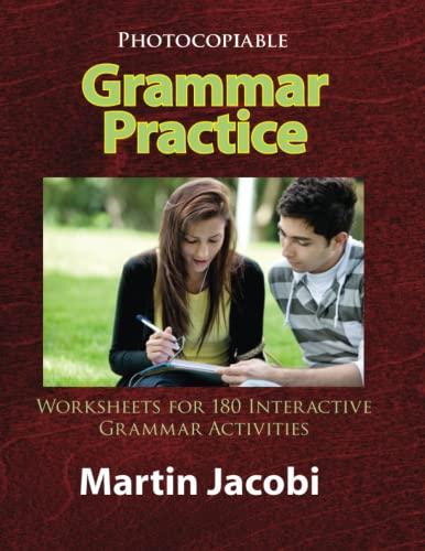 9780866473163: Grammar Practice