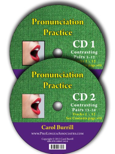 9780866473439: Pronunciation Practice: The Sounds of North American English: 2 Contrasting Pairs CD's