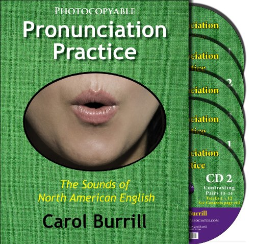 9780866473453: Pronunciation Practice: The Sounds of North American English: Text and 5 CD Set