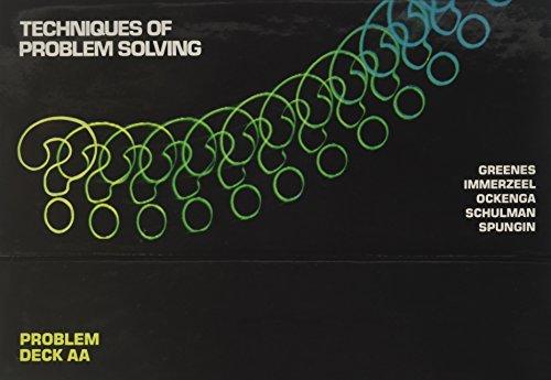 9780866510509: TOPS PROBLEM SOLVING CARD DECK AA GRADE 7 COPYRIGHT 1980