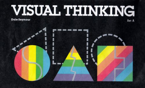 9780866511087: VISUAL THINKING SET A COPYRIGHT 1983 (100 Cards With Teachers Commentary)