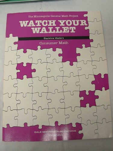 9780866511162: Watch Your Wallet: Grades 7-12 Consumer Math