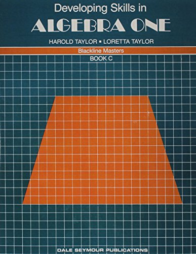 9780866512237: 01443 DEVELOPING SKILLS IN ALGEBRA ONE, BOOK C