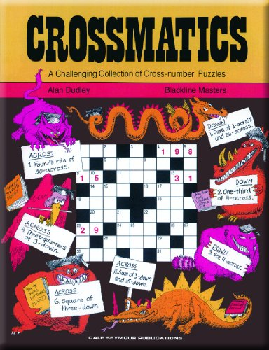 9780866515047: Crossmatics: Challenging Collection of Cross Number Puzzles, Grades 7-12