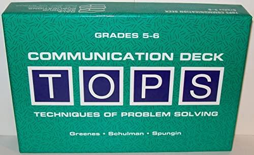 9780866516082: TOPS Communication Card Deck, Grades 5-6