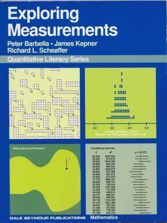 9780866516396: QUANTITATIVE LITERACY SERIES: EXPLORING MEASUREMENTS, STUDENT EDITION