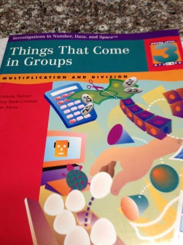 9780866518017: Things That Come in Groups: Multiplication & Division