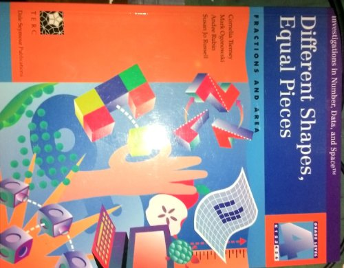 9780866518130: Different Shapes, Equal Pieces: Fractions and Area (Investigations in Number, Data, and Space)