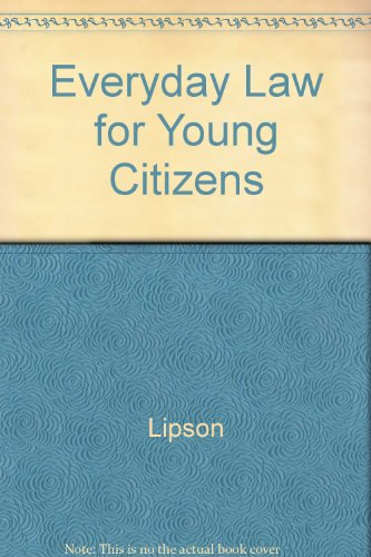 9780866534475: Everyday Law for Young Citizens