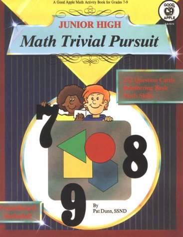 9780866534697: Math Trivial Pursuit with Cards and Gameboard (Math Trivial Pursuit Book/Game Series)