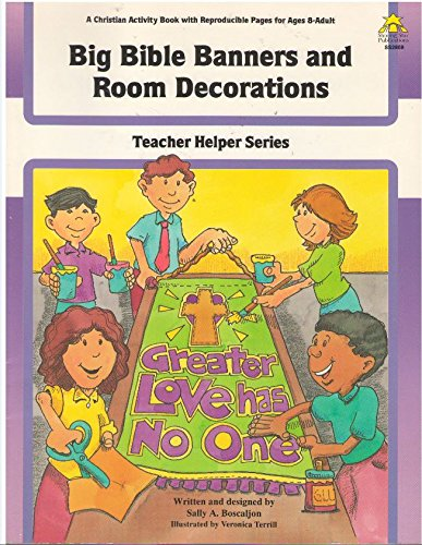 9780866536356: Big Bible Banners and Room Decorations (Teacher Helper)