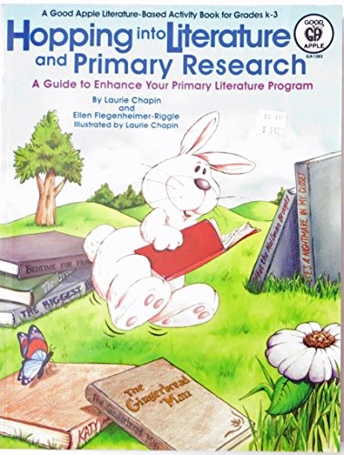 Hopping into Literature and Primary Research: Laurie Chapin; Ellen